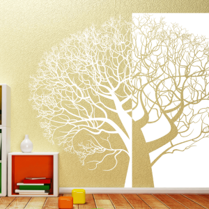 Wandtattoo Baum XXL 236cm x 200cm zweiteilig