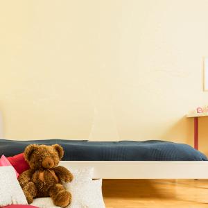 Wandtattoo Baum einfarbig