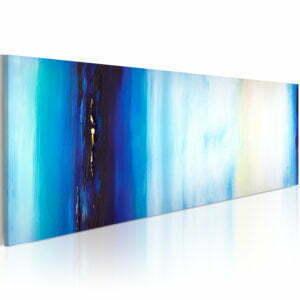Gemaltes Bild - Blaue Flüssigkeit