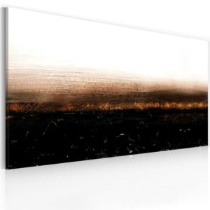 Gemaltes Bild - Black soil (Abstraction)