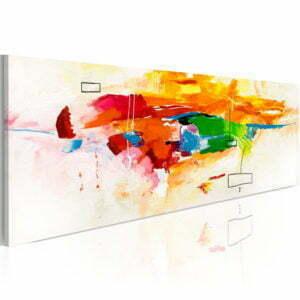 Wandbild - Colors celebration