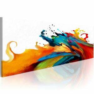 Wandbild - Colorful storm