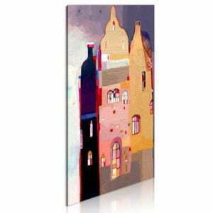 Wandbild - Märchenhaftes Haus