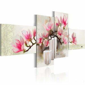 Gemaltes Bild - Duft von Magnolien