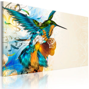 Wandbild - Bird's music
