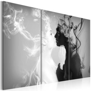 Wandbild - Smoky kiss