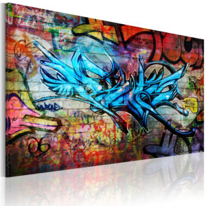 Wandbild - Anonymous graffiti