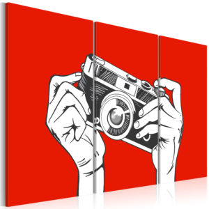 Wandbild - A photographer