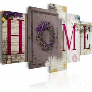 Wandbild -  Welcome home