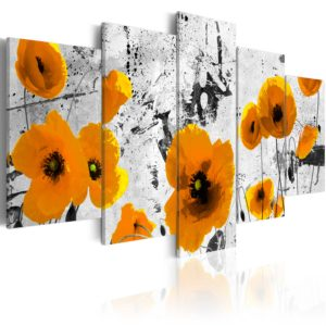 Wandbild - Poppies in the royal color
