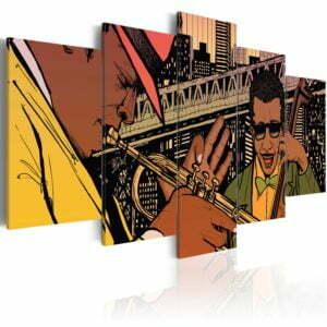 Wandbild - Jazz in NYC