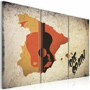 Wandbild - ¡Olé! Spain - Triptychon