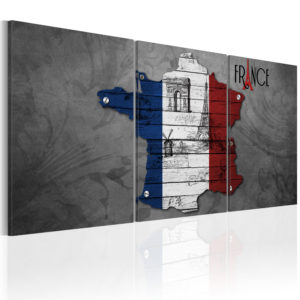 Wandbild - All about France