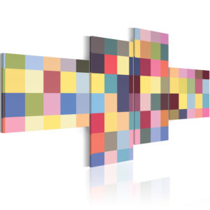 Wandbild - Ästhetik der Farben