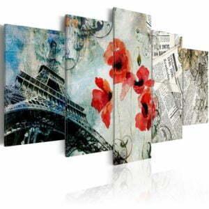 Wandbild - Memories of Paris