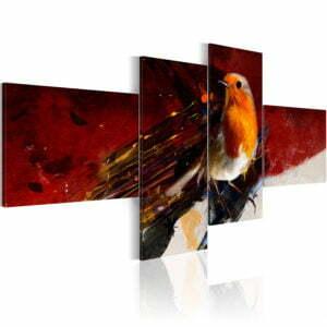Wandbild - Das mit dem Vogel drauf