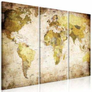 Wandbild - Alte Kontinente