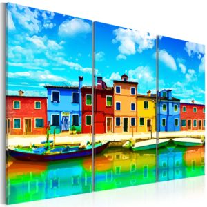 Wandbild - Sunny morning in Venice