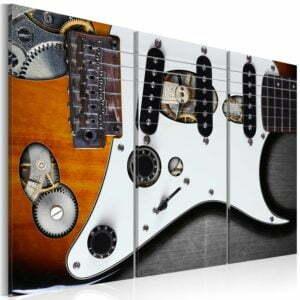 Wandbild - Guitar Hero