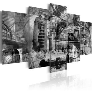 Wandbild - Das Wesen von London - 5 Teile