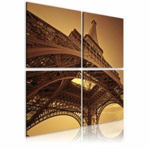 Wandbild - Eiffelturm - Paris