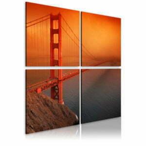 Wandbild - Golden Gate Brücke: San Francisco