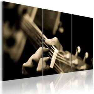 Wandbild - Magischer Gitarrenklang