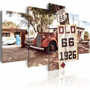 Wandbild - California - vintage style