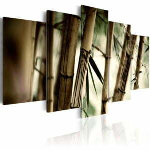 Wandbild - Bambus in tropischen Wäldern