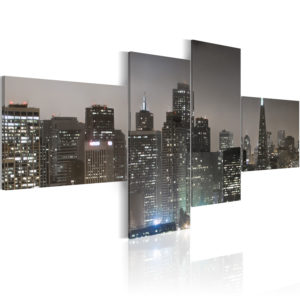 Wandbild - San Francisco am Abend