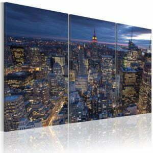 Wandbild - Blick von oben - NYC