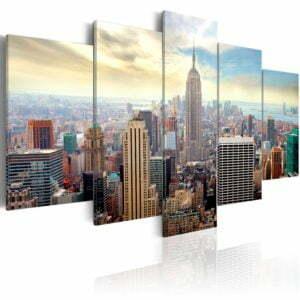 Wandbild -  Morning in New York City