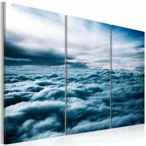 Wandbild - Dichte Wolken