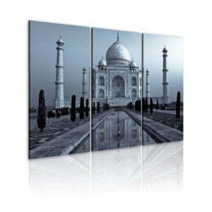 Wandbild - Taj Mahal in der Nacht, Indien