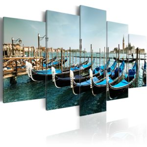 Wandbild - Kanal in Venedig