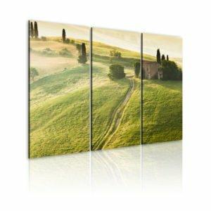 Wandbild - Die Sonne über Toskana
