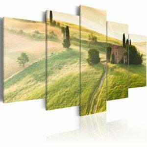 Wandbild - Grüne Toskana