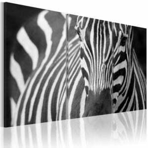 Wandbild - Mrs. Zebra