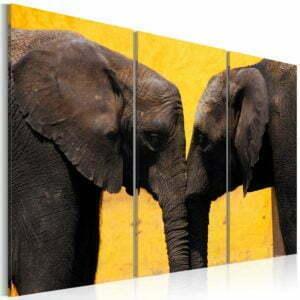 Wandbild - Elefantenliebe