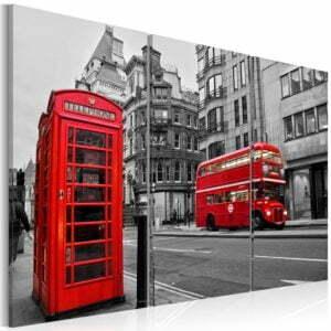 Wandbild - Leben in London