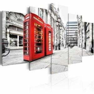 Wandbild - Street of London