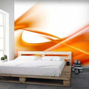Fototapete - Abstrakt - orangene