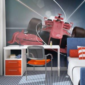 Fototapete - Formel-1-Wagen