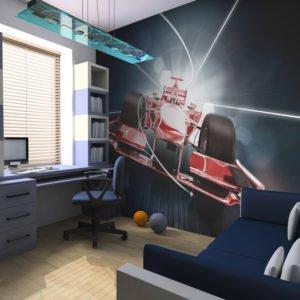Fototapete - Formel-1 : Dynamik und Energie