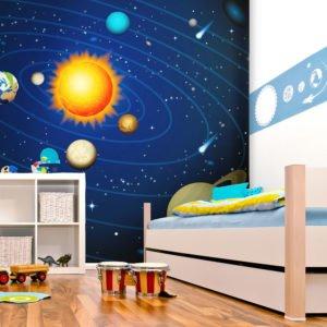 Fototapete - Das Sonnensystem