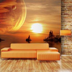 Fototapete - Fantasy sunset