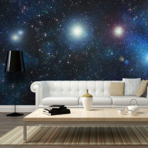 Fototapete - Milliarden heller Sterne