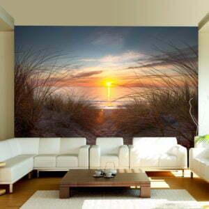 Fototapete - Sonnenuntergang am Atlantik