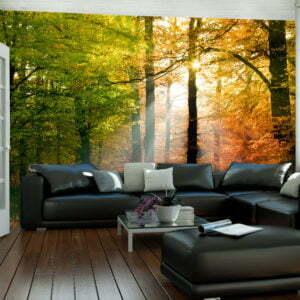 Fototapete - Wunderschöner Herbst