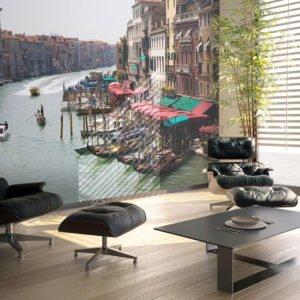 Fototapete - Canal Grande in Venedig, Italien